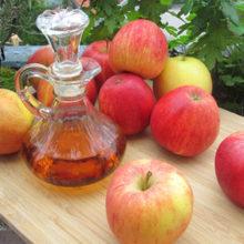 Яблочный уксус, полезные свойства и применение